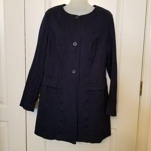 Navy blue Cabi dress jacket, size L
